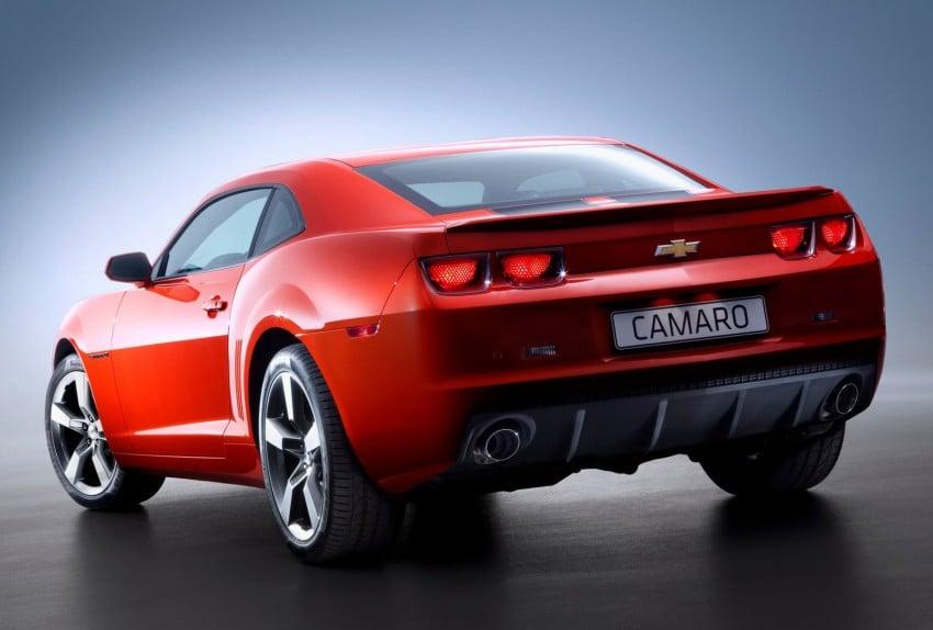 Chevrolet Camaro gains sharper handling for Europe Image #112843