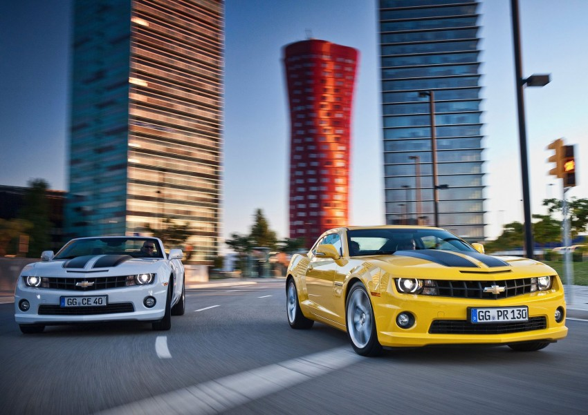 Chevrolet Camaro gains sharper handling for Europe Image #112845