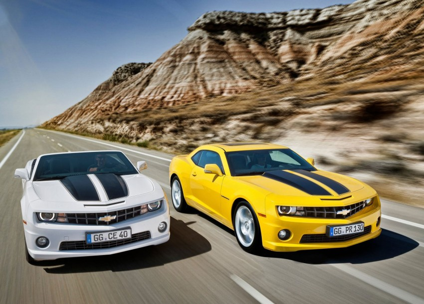 Chevrolet Camaro gains sharper handling for Europe Image #112846