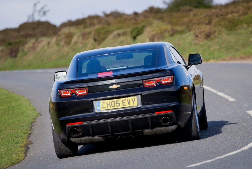 Chevrolet Camaro gains sharper handling for Europe Image #112847