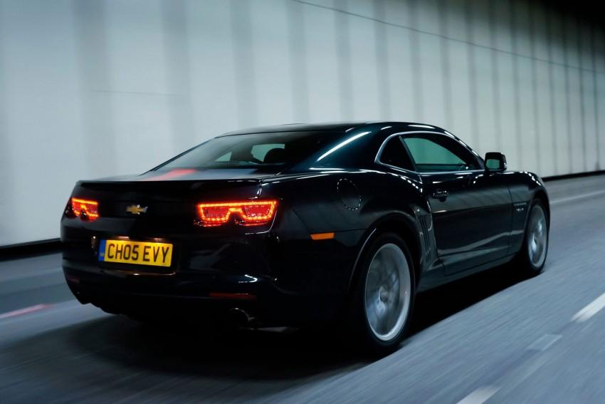 Chevrolet Camaro gains sharper handling for Europe Image #112848