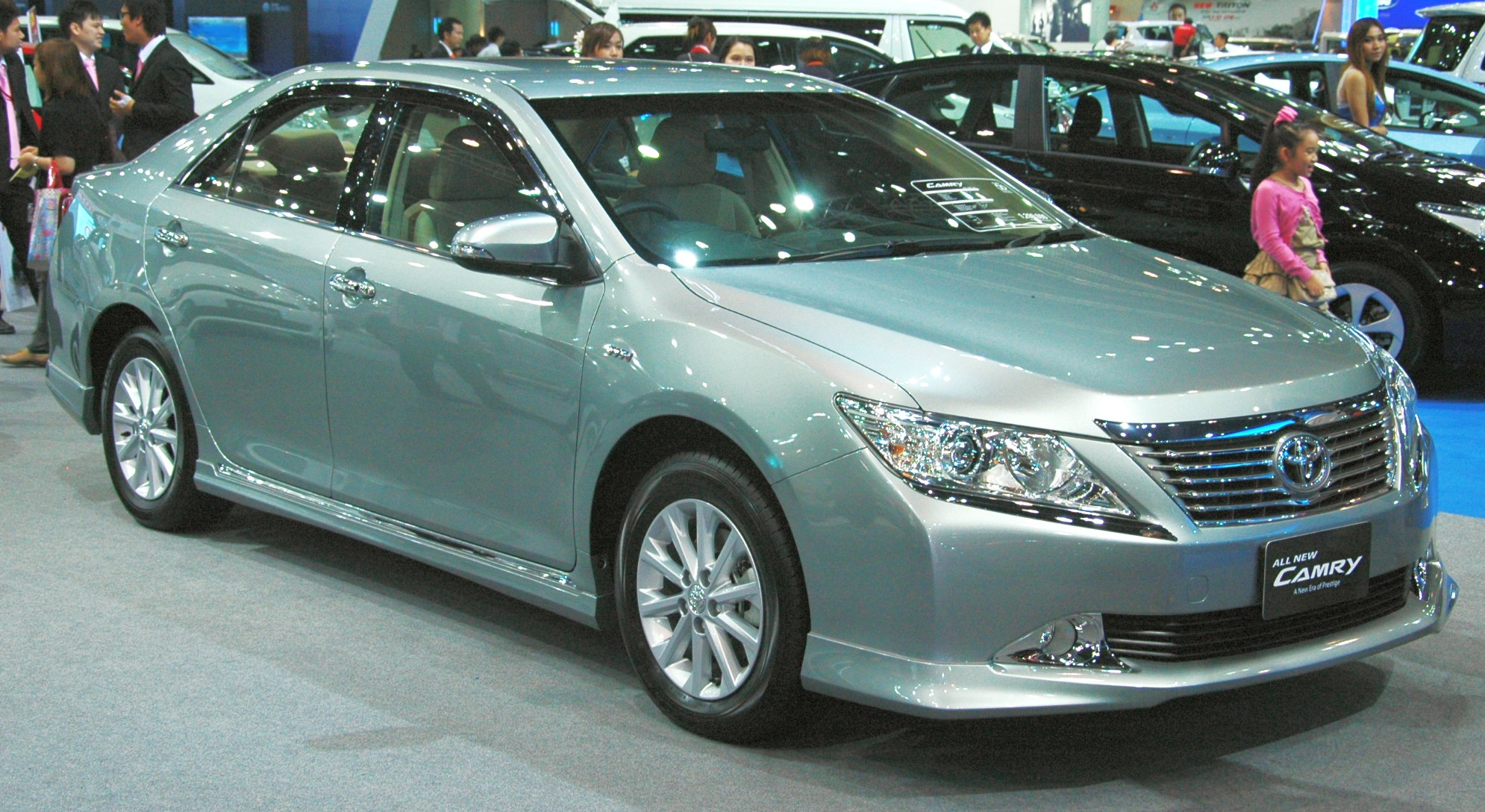 Toyota Camry Brochure Leaked And Pix Of Thai Market