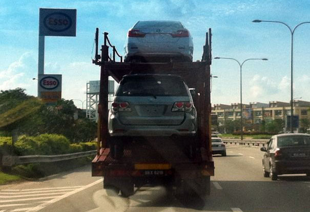 New Toyota Camry reaches our shores, caught in transit! Image #107141