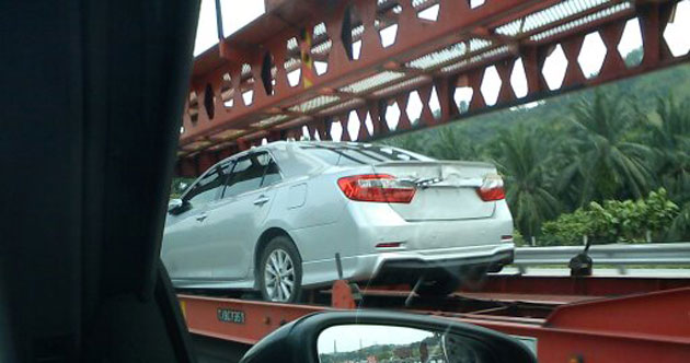 New Camry spotted again – 2.0 and 2.5 with bodykit Image #108915