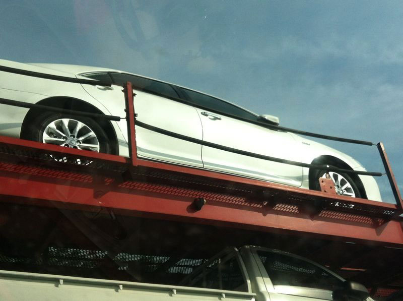 New Toyota Camry reaches our shores, caught in transit! Image #107143