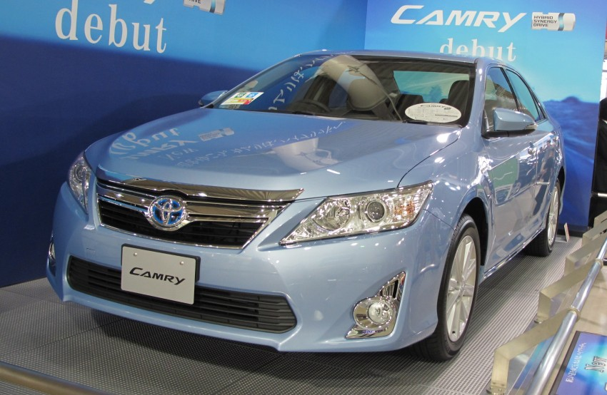 Toyota Camry – JDM Hybrid offers another take on the XV50 Image #107794