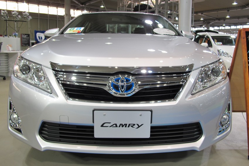 Toyota Camry – JDM Hybrid offers another take on the XV50 Image #107789