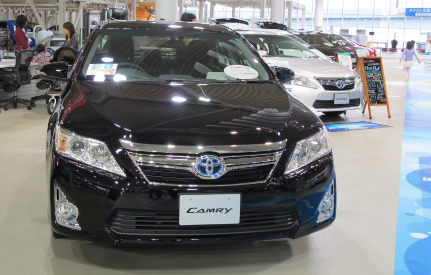 Toyota Camry – JDM Hybrid offers another take on the XV50 Image #107791