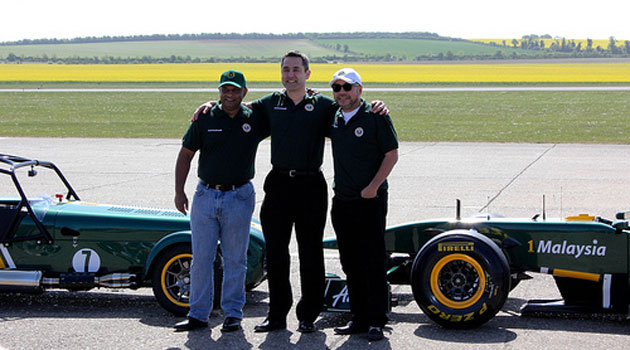 Ansar Ali leaves his post as Caterham Cars CEO Image #113766
