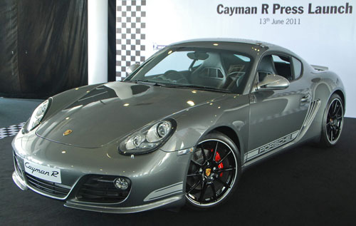 Porsche Cayman R launched: 10 hp more, 55 kg less, RM630k – our brief impressions from the track Image #60988