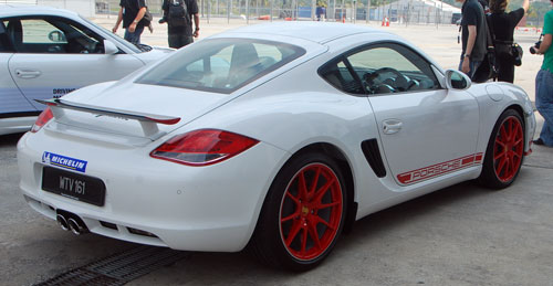 Porsche Cayman R launched: 10 hp more, 55 kg less, RM630k – our brief impressions from the track Image #60986