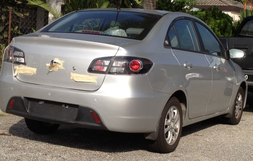 Changan Alsvin YueXiang sighted with trade plates Image #110083