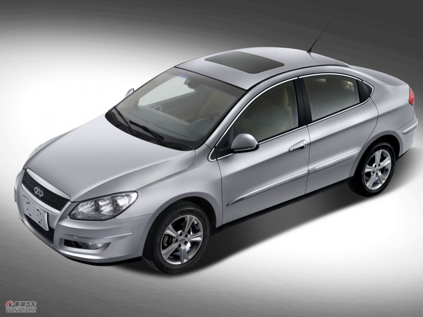 Chery A3 Sedan sighted on the PLUS highway Image #110122