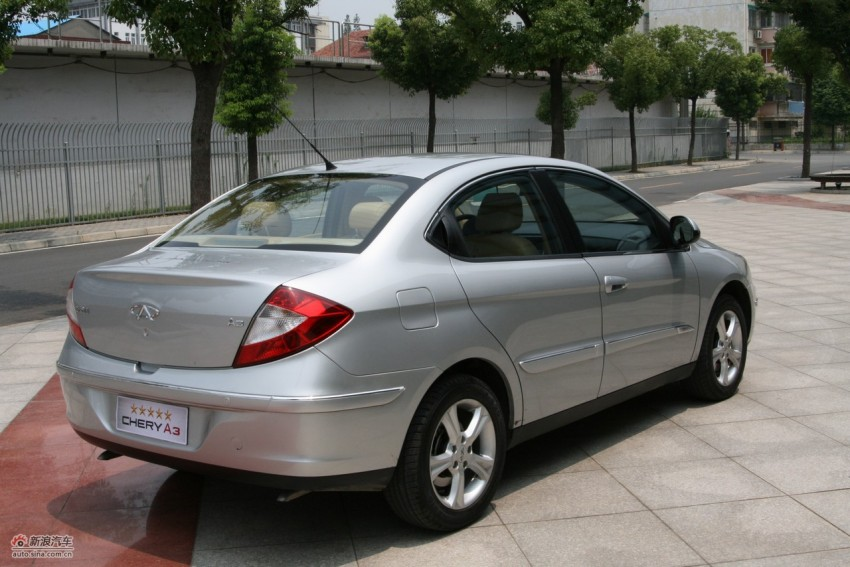 Chery A3 Sedan sighted on the PLUS highway Image #110121