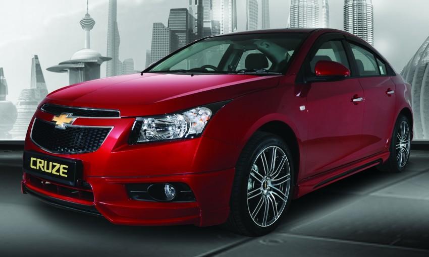 Chevrolet Cruze LT: free LTZ upgrade for new buyers Image #134118
