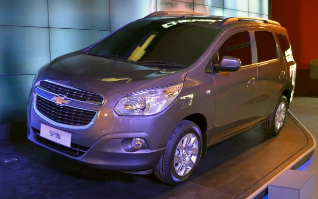 Chevrolet Spin To Make Indonesian Debut In 2013