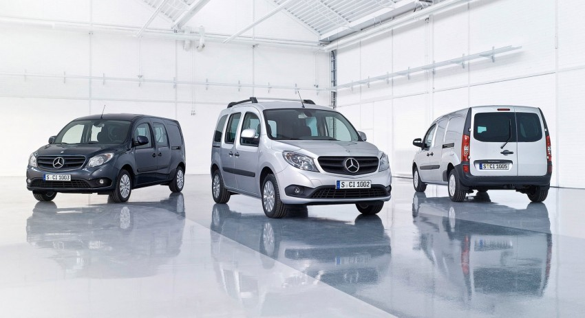 Mercedes-Benz Citan – Kangoo with a three-pointed star Image #101662