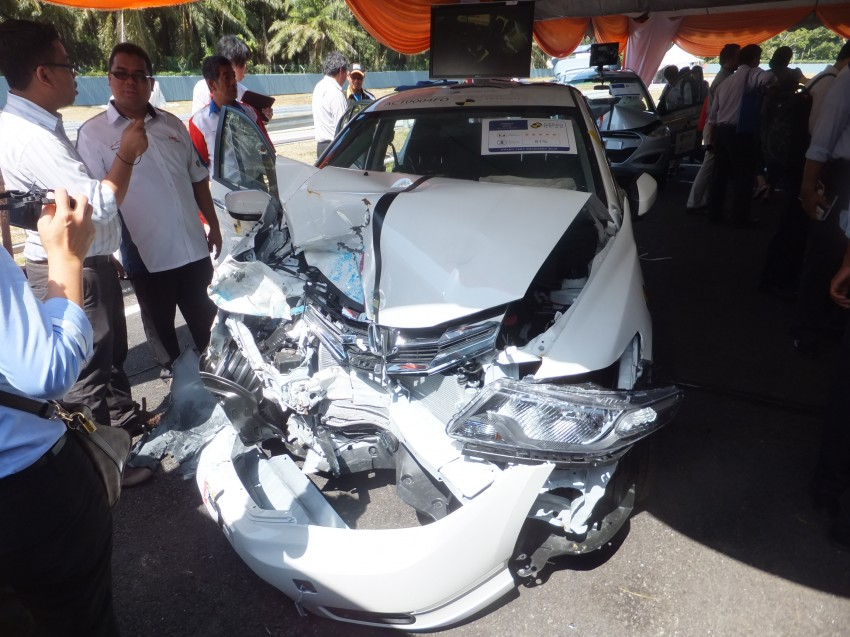 ASEAN NCAP first phase results released for eight models tested – Ford Fiesta and Honda City get 5 stars Image #151935