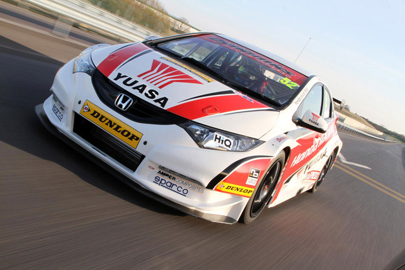 European Honda Civic hatchback in BTCC 2012 livery Image #92782