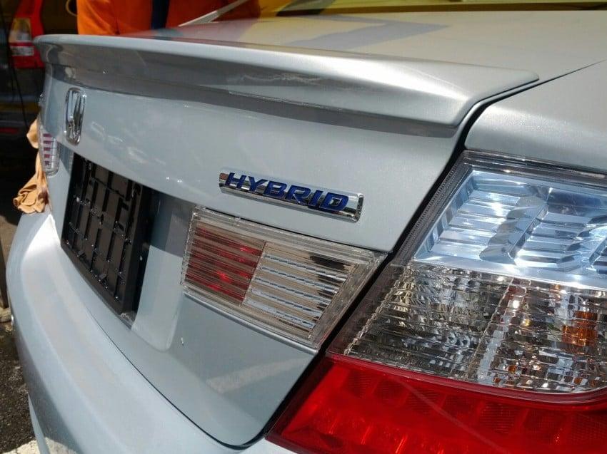 2012 Honda Civic Hybrid launching in Malaysia? Image #116954