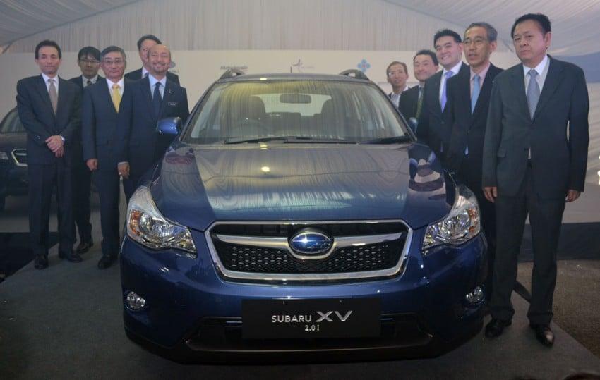 CKD Subaru XV official roll out at Tan Chong's Segambut plant – 6.5k units per year, 70% for export Image #146741