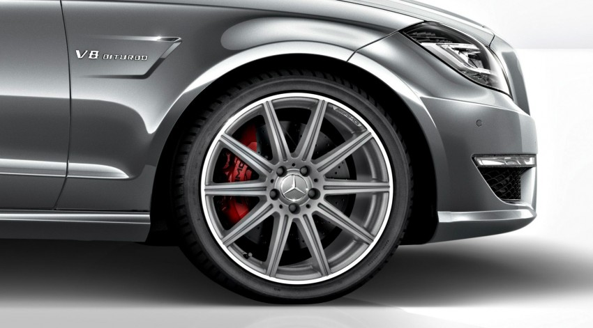 Mercedes-Benz CLS63 AMG gets S-Model update Image #149360