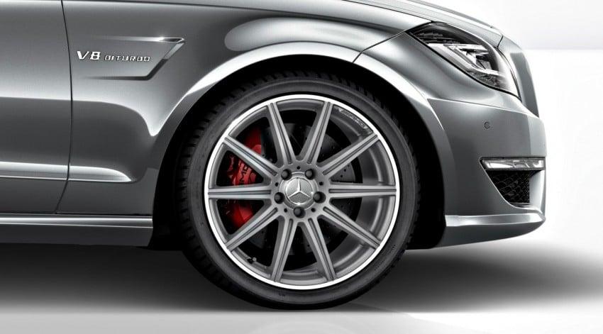 Mercedes-Benz CLS63 AMG gets S-Model update Image #149360