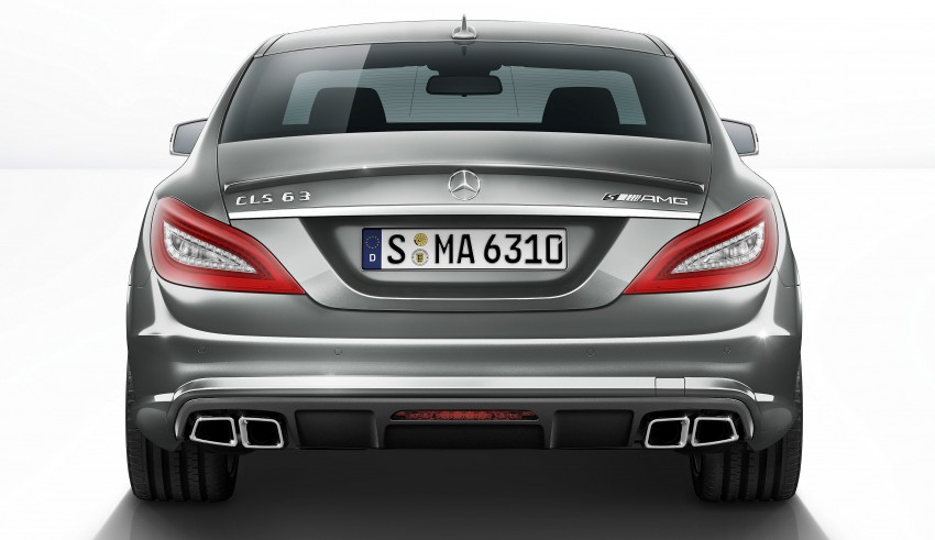 Mercedes-Benz CLS63 AMG gets S-Model update Image #149342