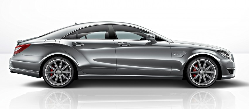 Mercedes-Benz CLS63 AMG gets S-Model update Image #149343