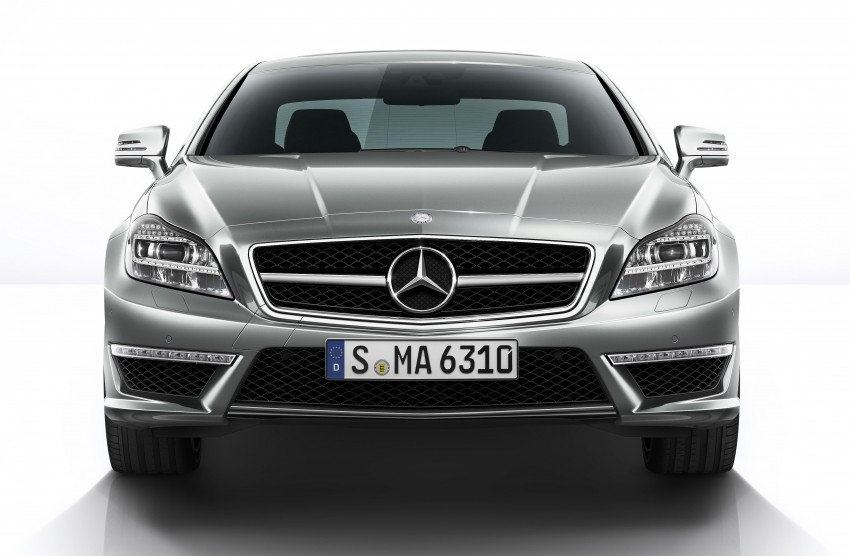 Mercedes-Benz CLS63 AMG gets S-Model update Image #149344