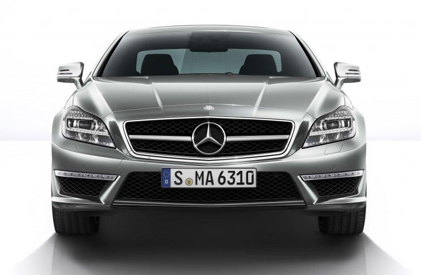 Mercedes-Benz CLS63 AMG gets S-Model update Image #149344