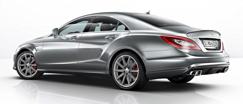 Mercedes-Benz CLS63 AMG gets S-Model update Image #149345