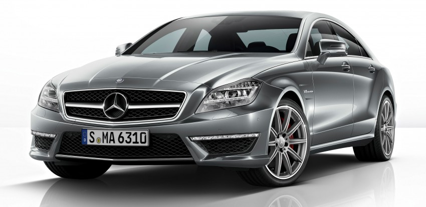 Mercedes-Benz CLS63 AMG gets S-Model update Image #149346