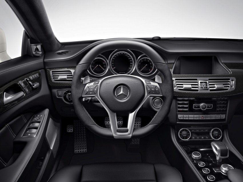 Mercedes-Benz CLS63 AMG gets S-Model update Image #149347