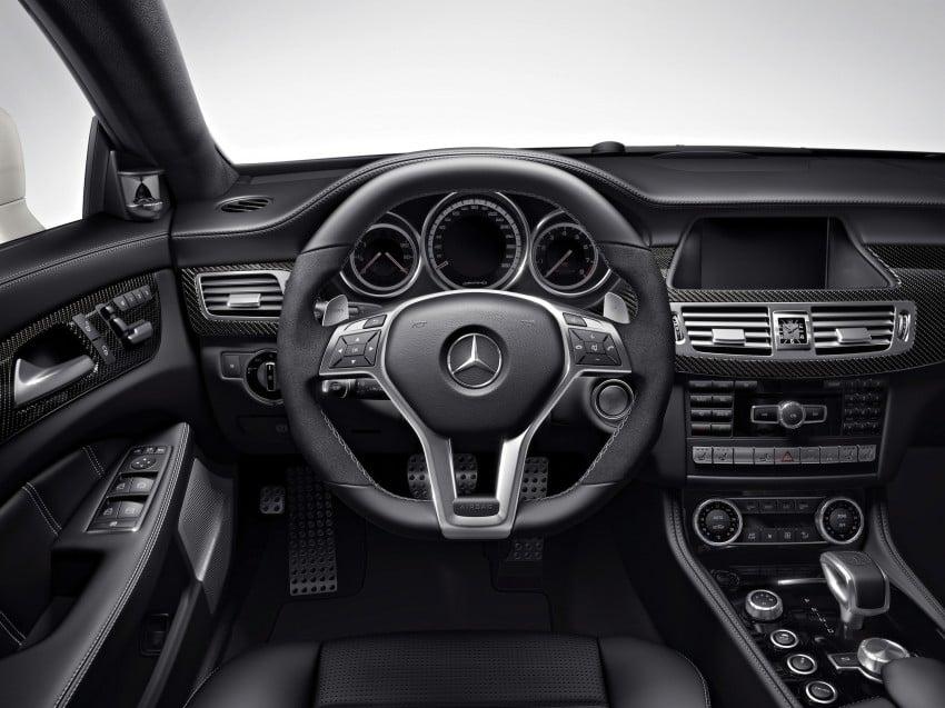 Mercedes-Benz CLS63 AMG gets S-Model update Image #149347
