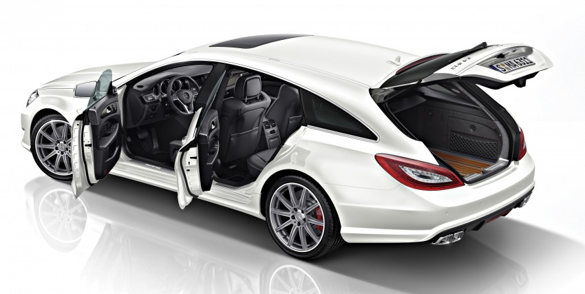 Mercedes-Benz CLS63 AMG gets S-Model update Image #149348