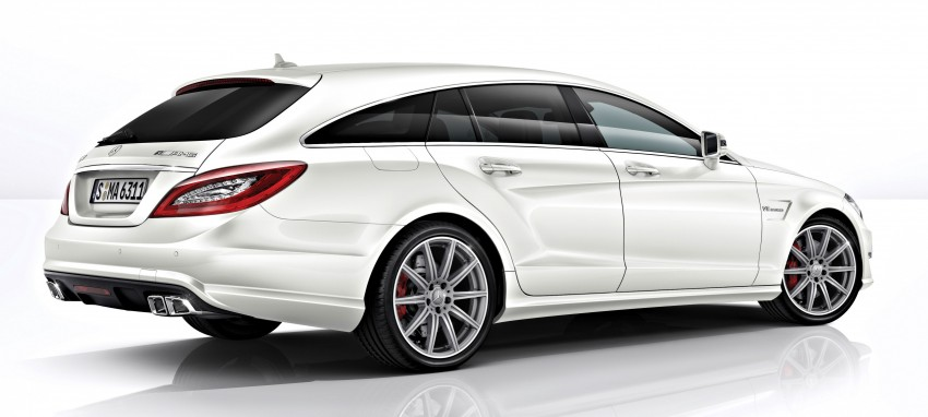 Mercedes-Benz CLS63 AMG gets S-Model update Image #149349