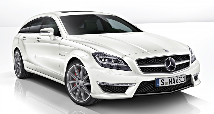 Mercedes-Benz CLS63 AMG gets S-Model update Image #149350