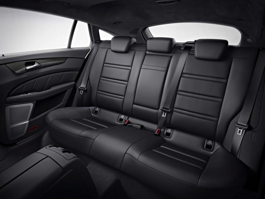 Mercedes-Benz CLS63 AMG gets S-Model update Image #149351