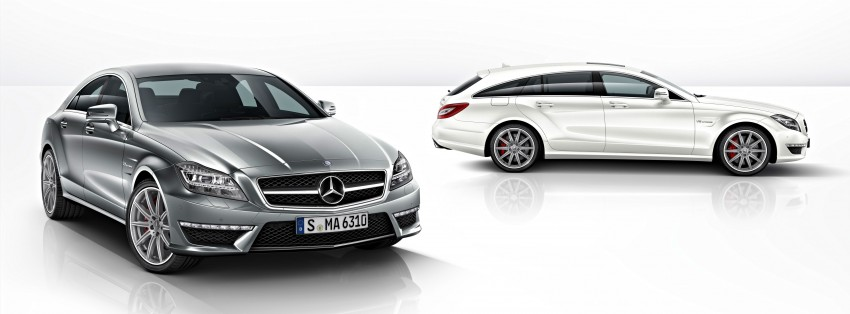 Mercedes-Benz CLS63 AMG gets S-Model update Image #149352