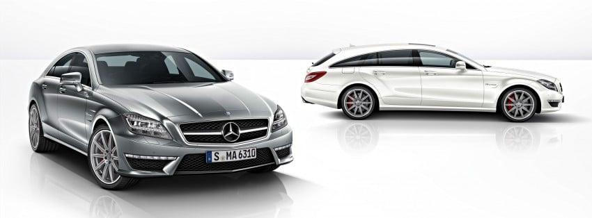 Mercedes-Benz CLS63 AMG gets S-Model update Image #149352