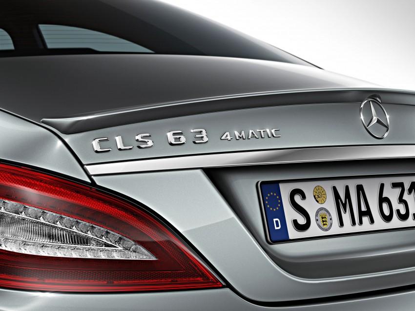 Mercedes-Benz CLS63 AMG gets S-Model update Image #149355