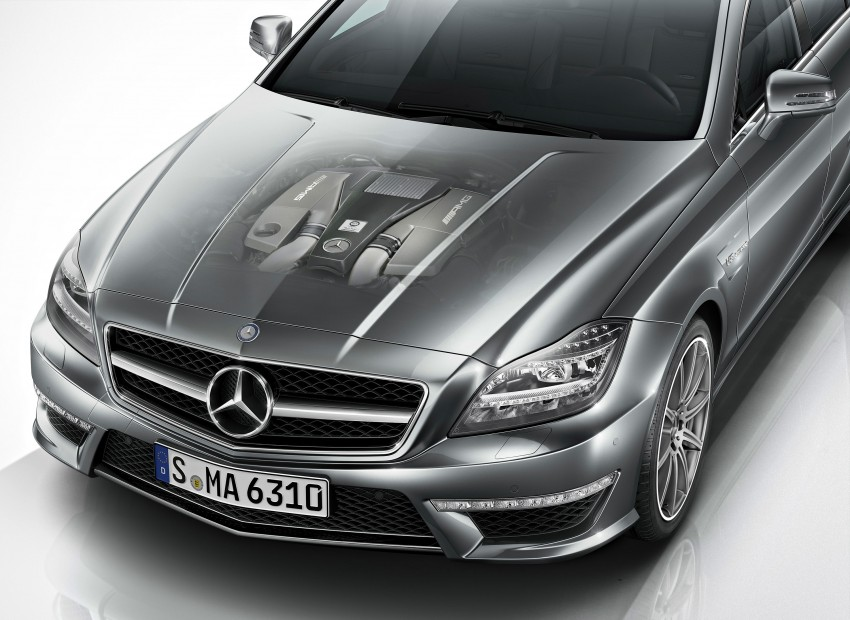 Mercedes-Benz CLS63 AMG gets S-Model update Image #149357