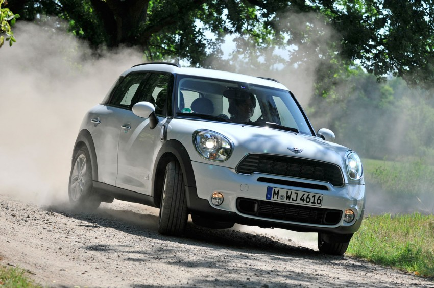 MINI Countryman test drive report from Hamburg, Germany Image #66389