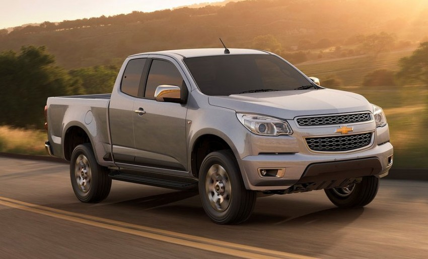 Chevrolet Colorado pickup truck makes debut in Thailand ...