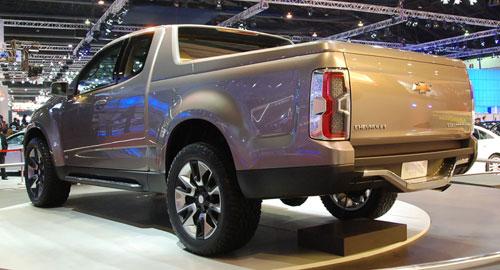 Bangkok Motor Show Chevrolet Colorado Show Truck
