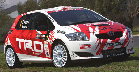 Toyota Corolla Super 2000 Rally Car