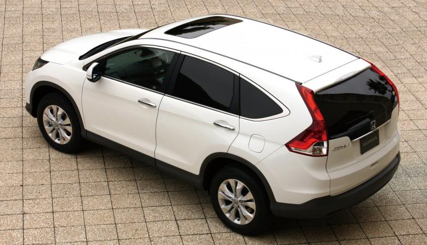 Honda Cr V 4th Gen To Begin Selling In Japan On Dec 2