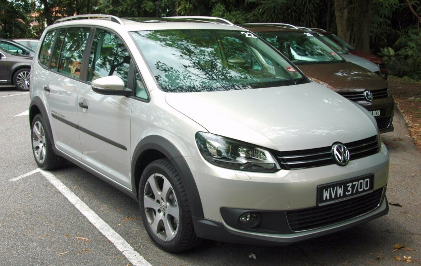 Volkswagen Cross Touran 1.4 TSI – first drive impressions Image #75571