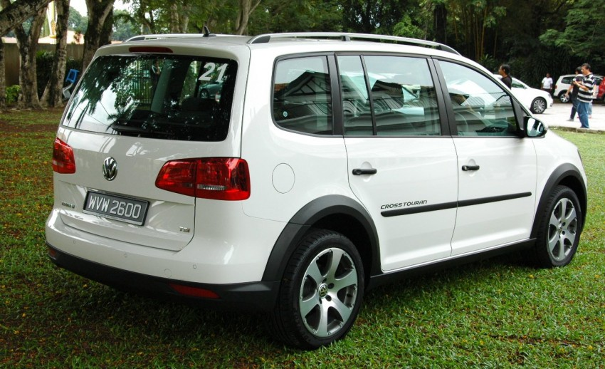 Volkswagen Cross Touran 1.4 TSI – first drive impressions Image #75572